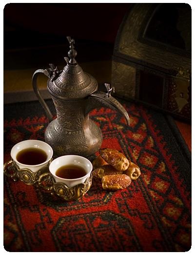 پک افطاری چای و خرما