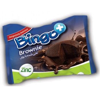 کیک برونی بینگو