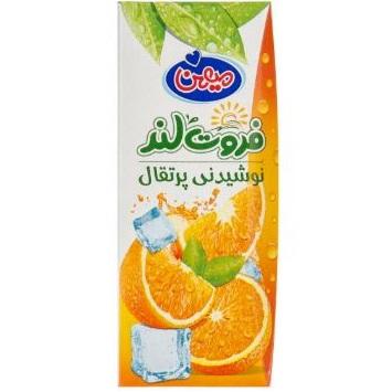 نوشیدنی پرتقال فروت لند میهن