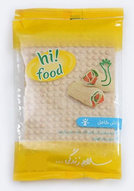 نان های فود در بسته بندی بهداشتی برای پک افطاری