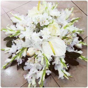 گل ترحیم رومیزی یا روی قبر